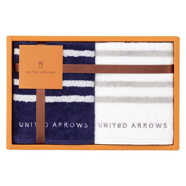 UNITED ARROWS タオルハンカチ2枚セット