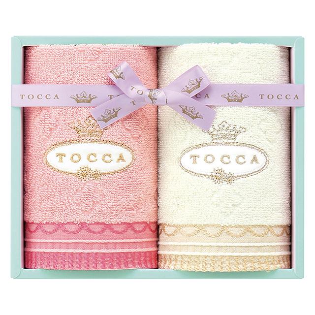 TOCCA ゲストタオル2枚セット ピンク