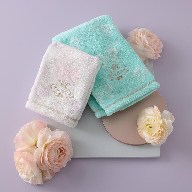 TOCCA タオル2枚セット ブルー