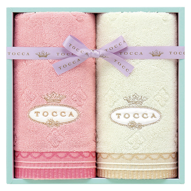 TOCCA フェイスタオル2枚セット ピンク