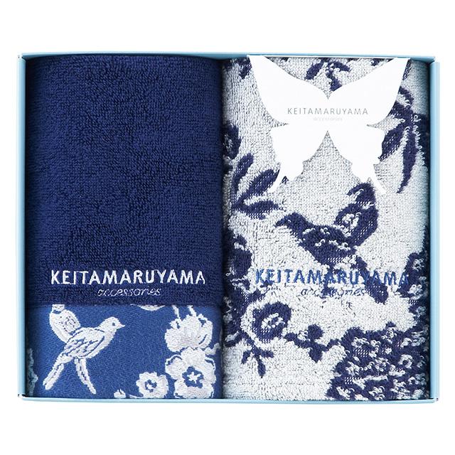 KEITAMARUYAMA フェイスタオル2枚セット