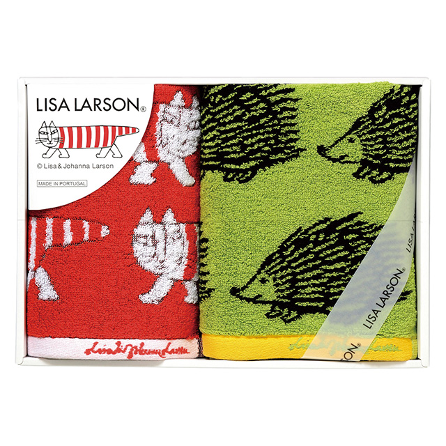 LISA LARSON タオル2枚セット