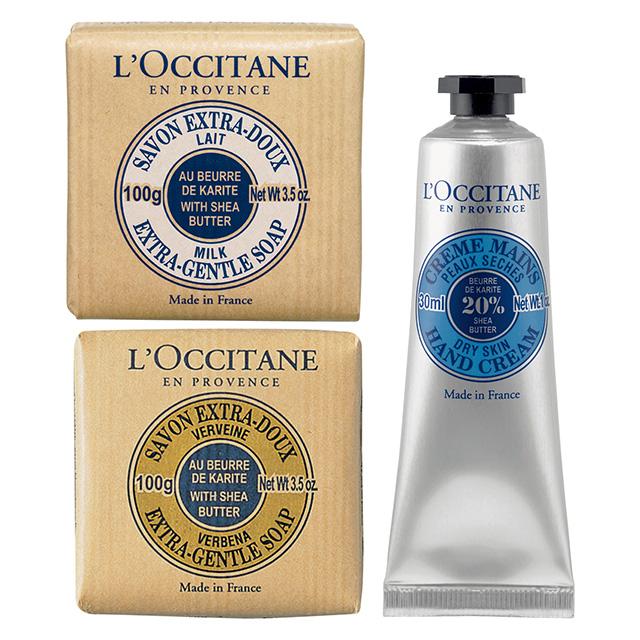 L'OCCITANE シアハンドクリーム&ソープセット