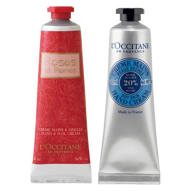 L'OCCITANE シア&ローズハンドクリームセット