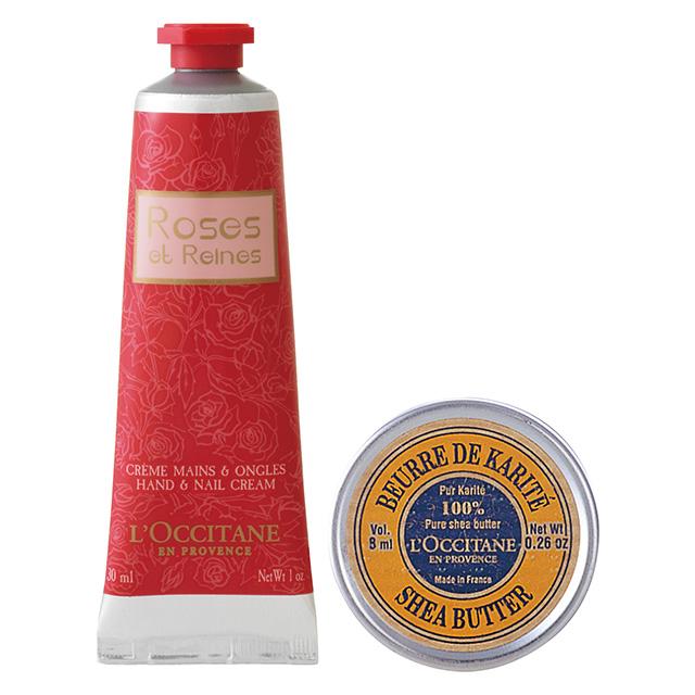 L'OCCITANE シアバター&ローズハンドクリームセット