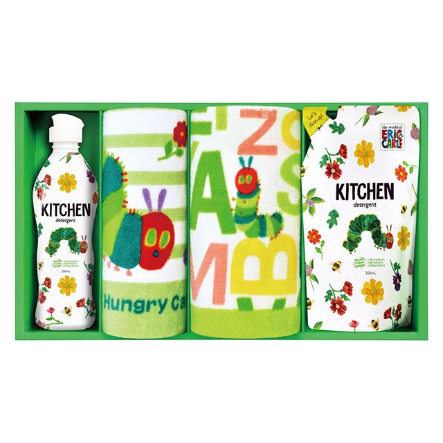 キッチン洗剤・タオル2枚セット メイン画像