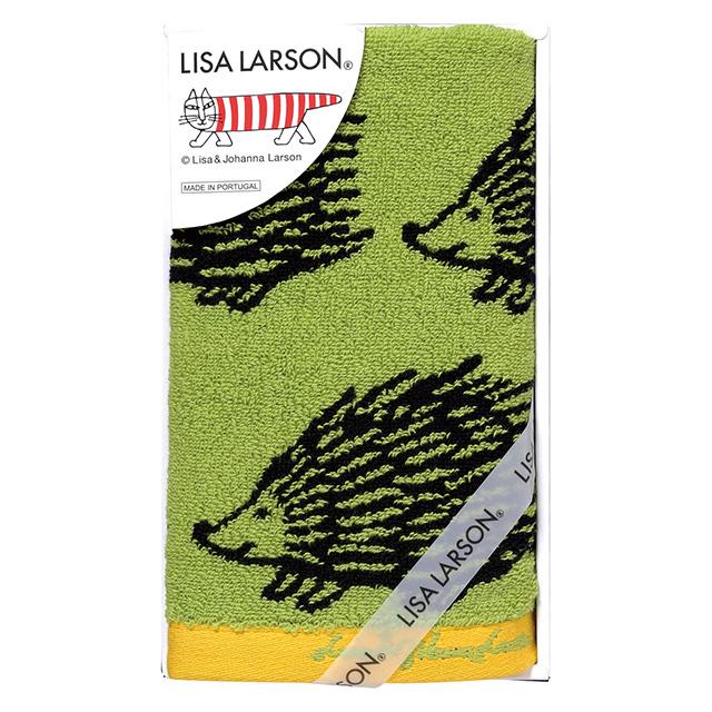 LISA LARSON ウォッシュタオル グリーン