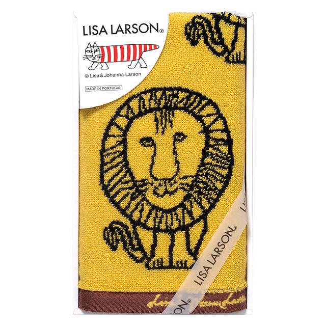 LISA LARSON ウォッシュタオル イエロー