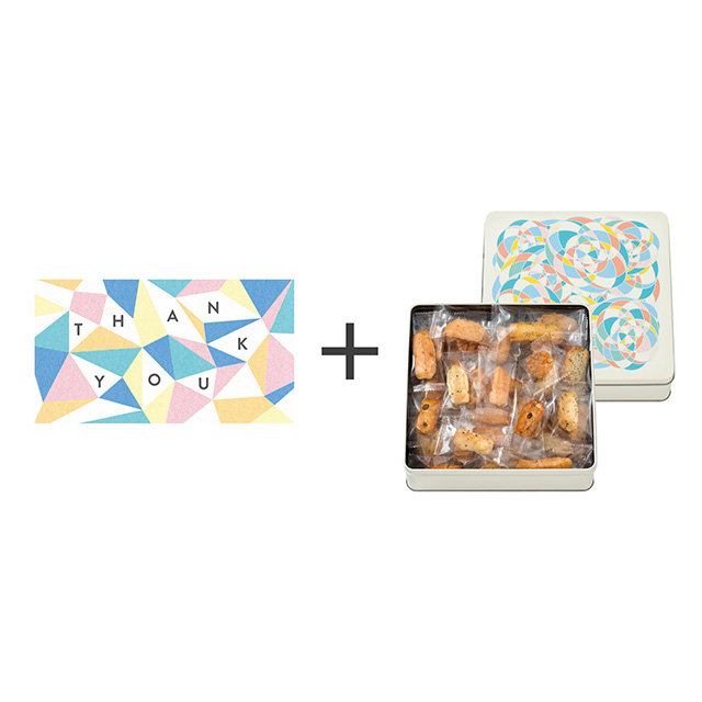 泰平製菓 おかきアソート(S)+webカタログ式ギフト カラフルダイヤ
