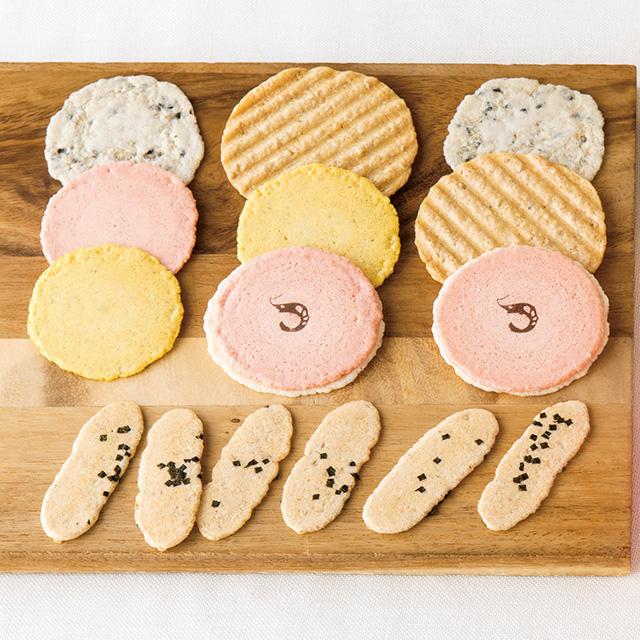 ヤマダエン.シズオカ 名入れ日本茶2箱(茶箱入)&志ま秀 海老菓子詰合せ メイン画像