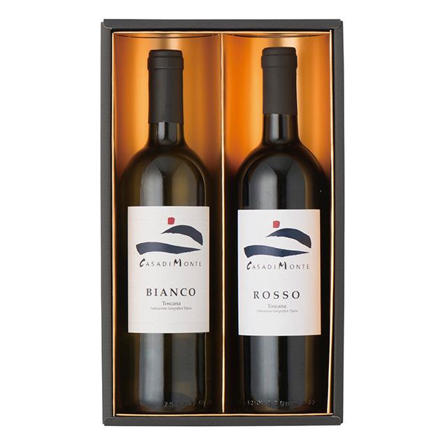 トスカーナ赤白ワインセット