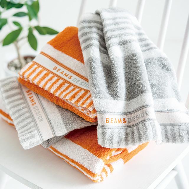 BEAMS DESIGN デザインタオル2枚セット