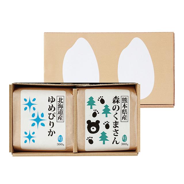 お米2種食べ比べセット(2合パック) メイン画像