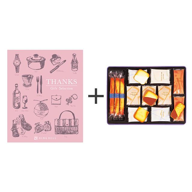 ヨックモック サンクデリス 春夏用+カタログ式ギフト サンクス ホイップピンク メイン画像