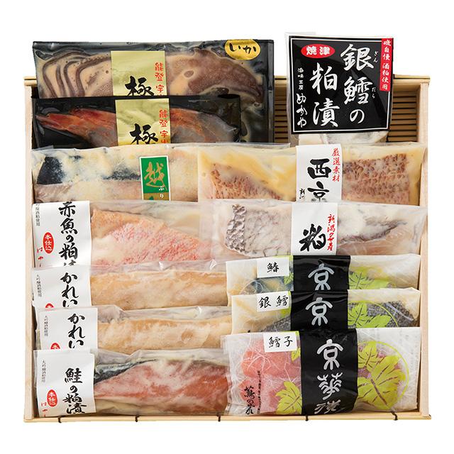漬け魚12種詰合せ メイン画像