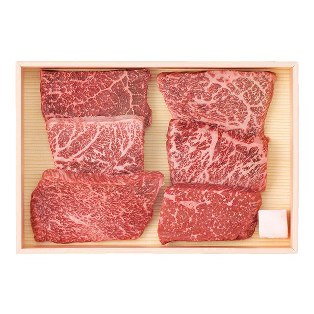 山晃食品 ブランド和牛 6選ミニステーキ メイン画像