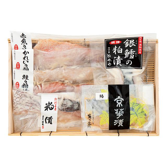 漬け魚6種詰合せ メイン画像