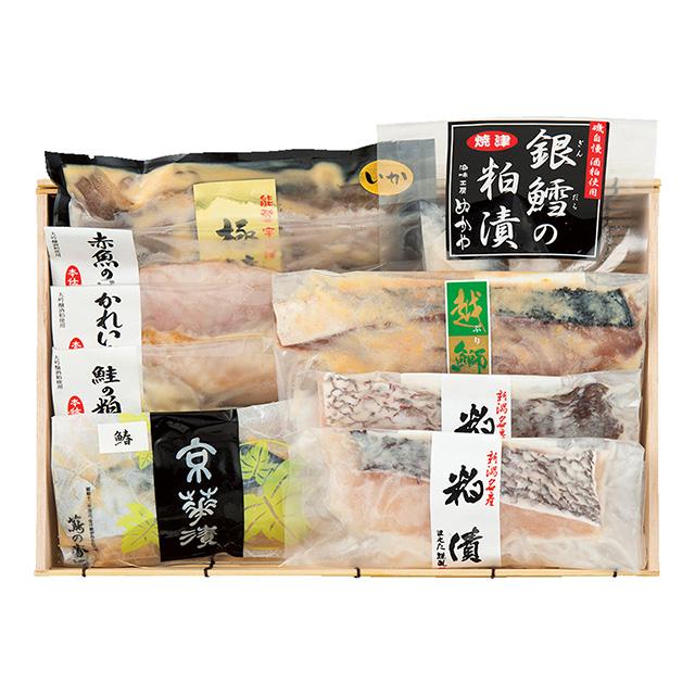 漬け魚8種詰合せのサムネイル