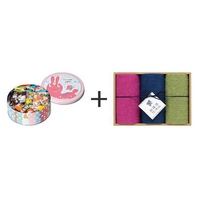 RODY ロディ Thankyou RODY(M)+おぼろ日本の伝統色 浴用タオル3枚セット