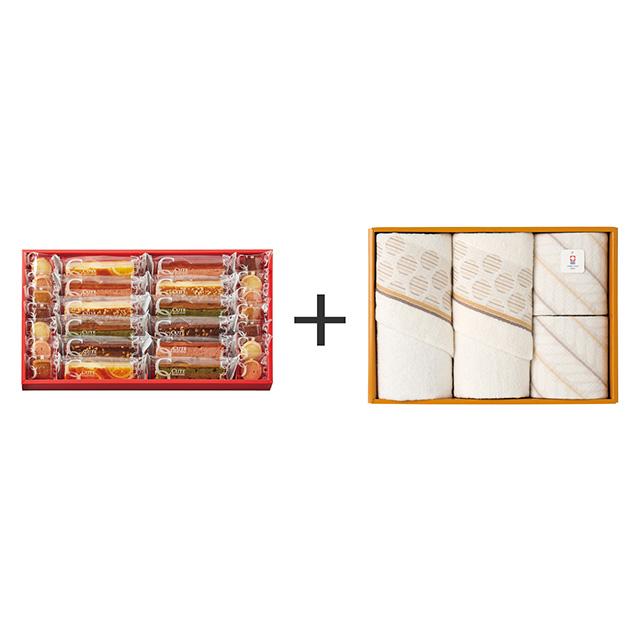 ひととえ キュートセレクション+今治のタオル4枚セット メイン画像