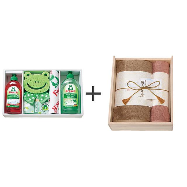 フロッシュ キッチン洗剤ギフト+今治謹製 極上タオル タオル2枚セット メイン画像