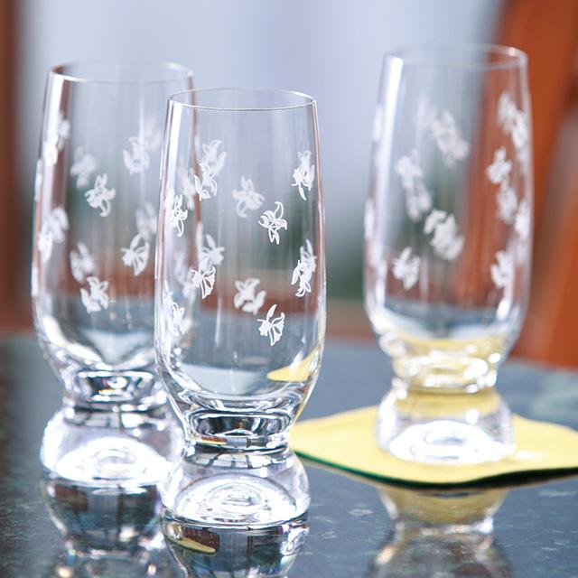 ボヘミア ビアグラス5個セット