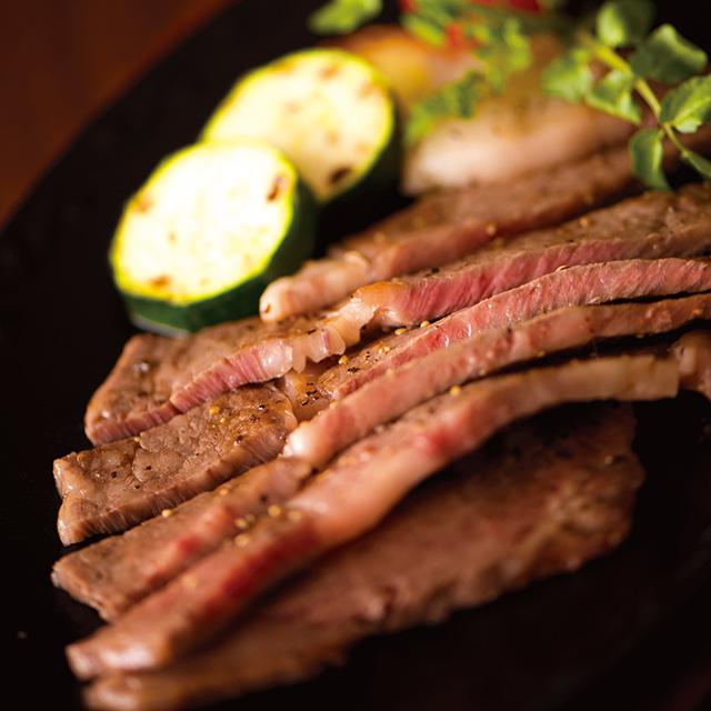 米沢牛 ロースステーキ メイン画像