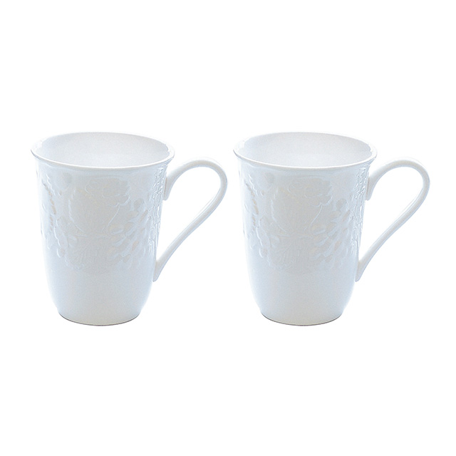 WEDGWOOD ストロベリー&バイン ペアマグカップ