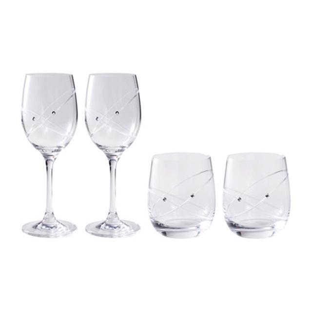 WEDGWOOD プロミシス ウィズディスリング ペアタンブラー&ワイングラス