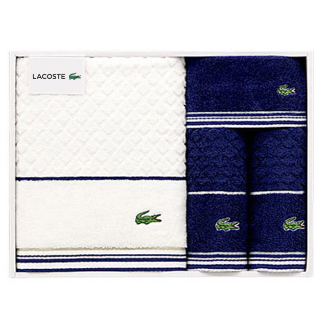 LACOSTE タオル4枚セット