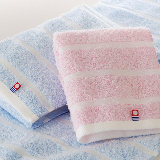 今治ぼかし織り タオル2枚セット メイン画像