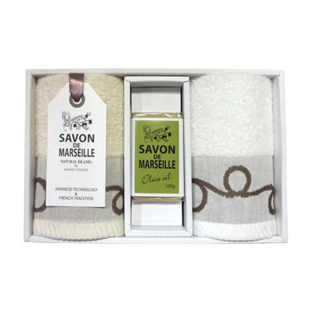 マルセイユ石鹸 タオルセット メイン画像
