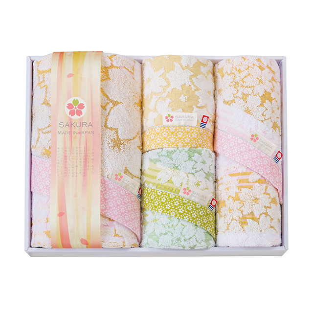 白桜 タオル4枚セット メイン画像
