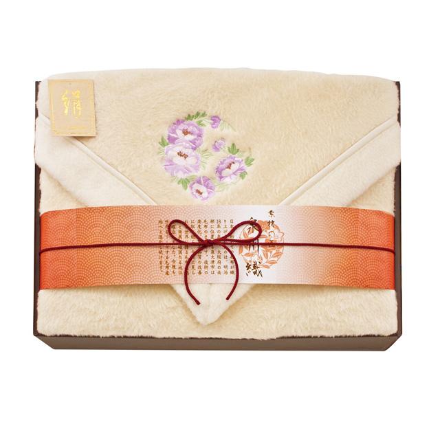 素材の匠 泉州織 シルク毛布(毛羽部分)