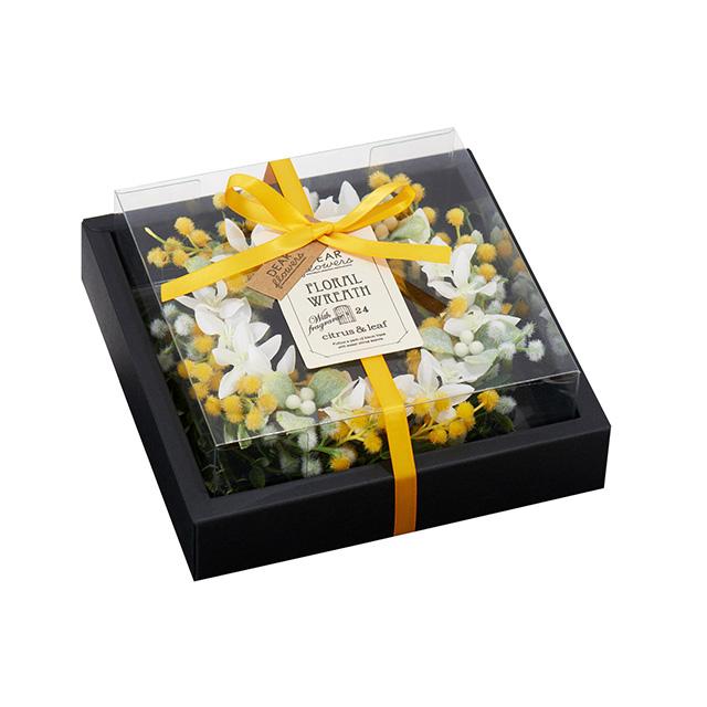 ディアフラワーズ フローラルリース レモンの花と棘
