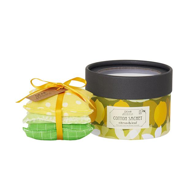 ディアフラワーズ コットンサシェ レモンの花と棘