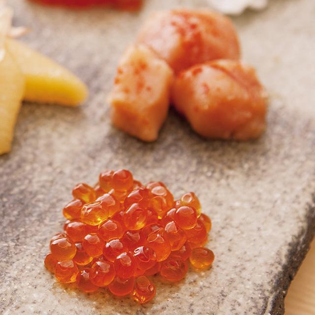 鮭匠ふじい 大吟醸酒粕仕込 魚卵粕漬(いくら・筋子・辛子明太子) メイン画像