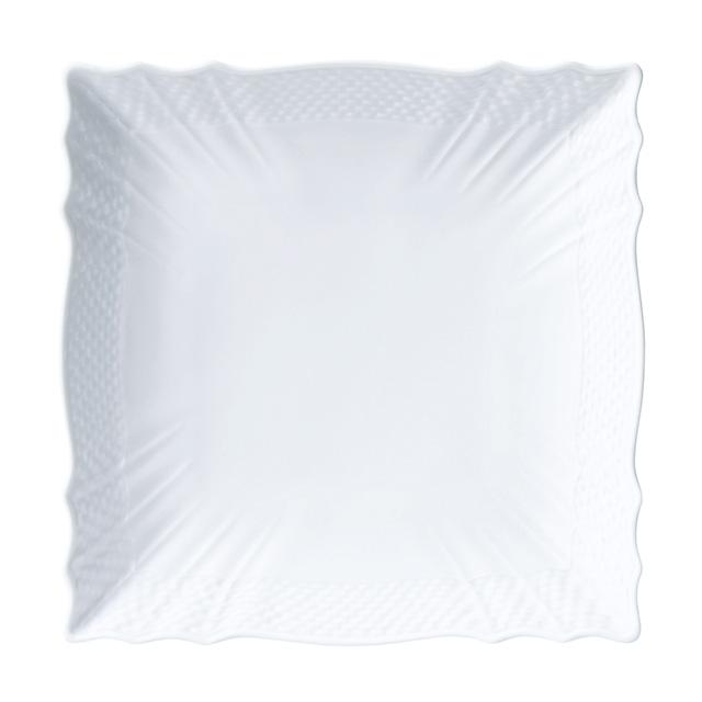 ベッキオジノリホワイト スクエアプレート メイン画像