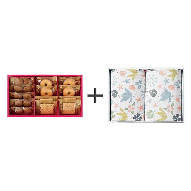 ラミ・デュ・ヴァン・エノ ラミ・デュ・ヴァン・エノ 焼菓子3種詰合せ+フェイスタオル2枚セット