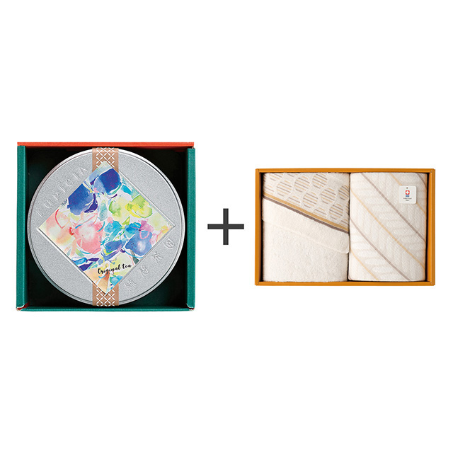 ルピシア ゼクシィオリジナルティー+今治のタオル2枚セット メイン画像