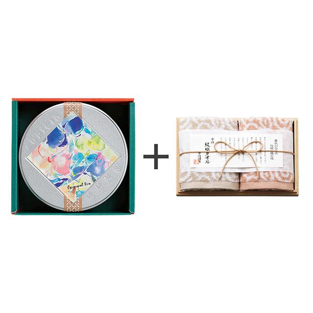 LUPICIA ルピシア ゼクシィオリジナルティー+今治謹製 紋織タオル ウォッシュタオル2枚セット