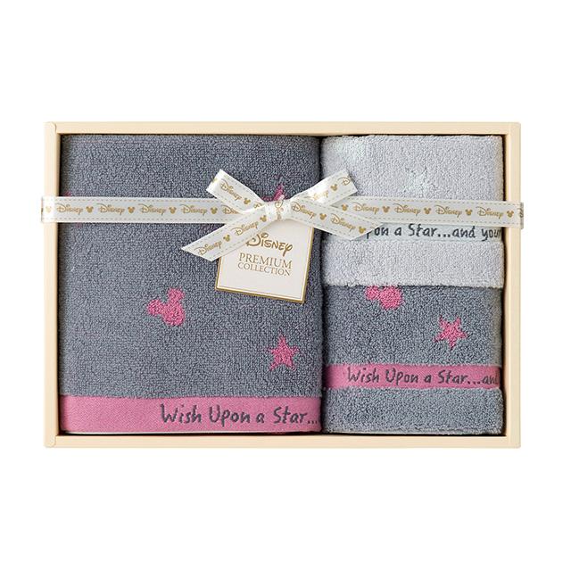 DISNEY 星に願いを タオル3枚セット ピンク