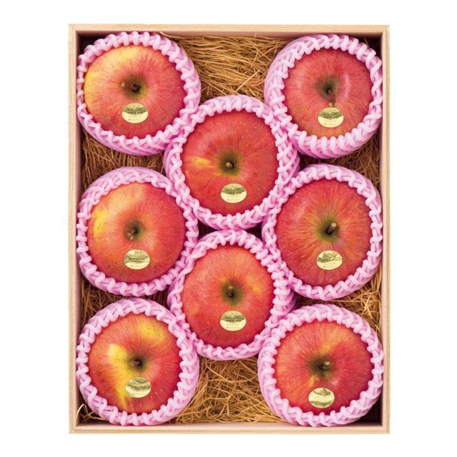 山形県天童市産 かたぎり農園 葉とらず無袋ふじりんご メイン画像
