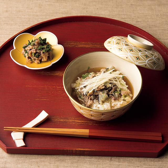 日本の極み 京都岩崎 京都牛の旨煮・おこわ粥詰合せ