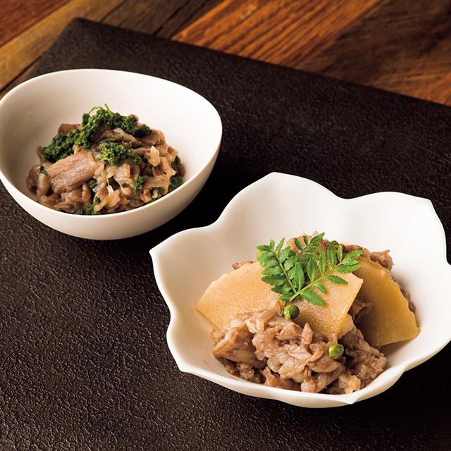 京都岩崎 京都牛の旨煮二種 メイン画像