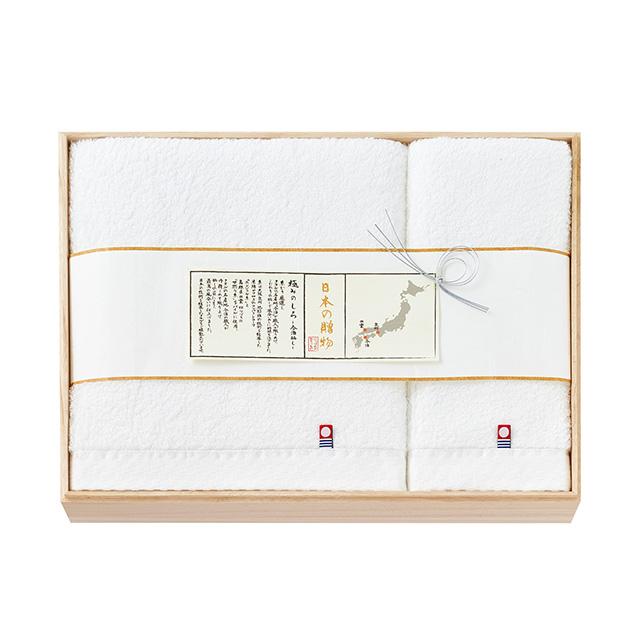 日本の贈物 タオルセット(桐箱入) メイン画像